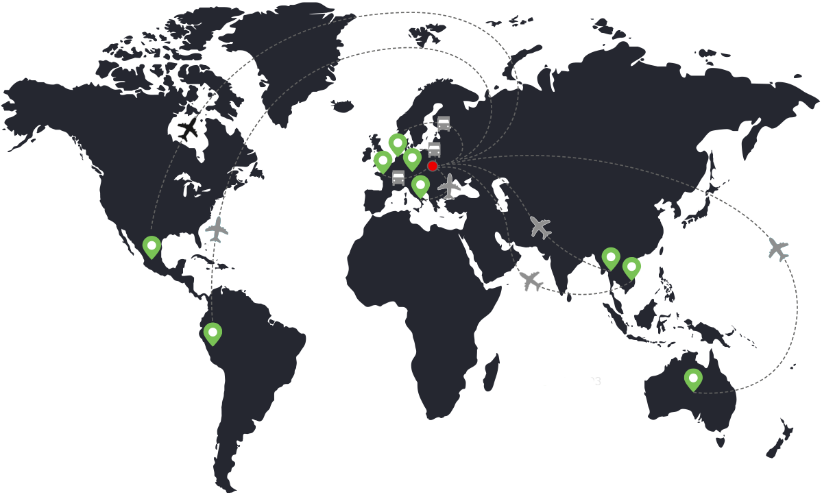 Mapa dovozu